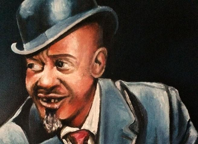 Auftragsmalerei Kwast Berlin,Porträtmalerei - Sonny Boy Williamson, Startseite