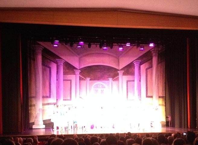 Kwast - Theatermalerei Bühnenbild Ballettschule