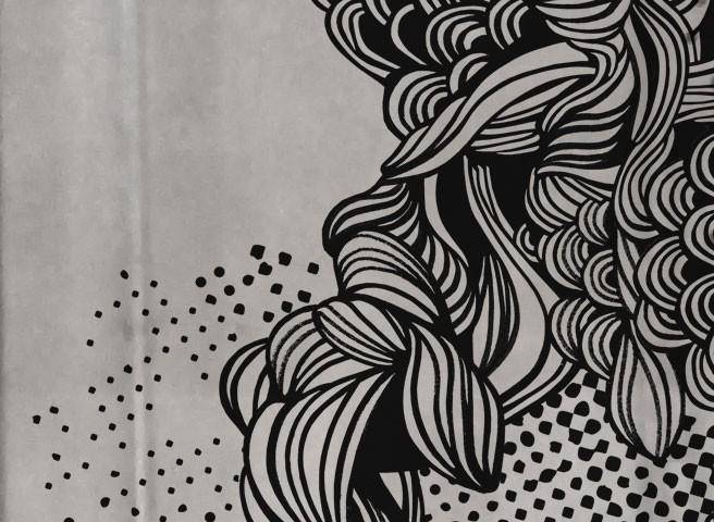 Wandmalerei-Berlin-Auftragsmalerei Kwast Berlin - Wandbild für Co-Working Center Mercedes Benz Start