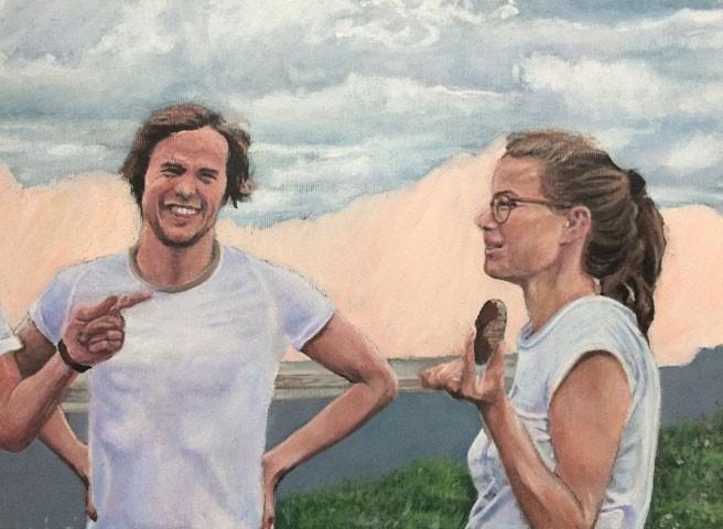 Auftragsmalerei Kwast Berlin, Portraitmalerei - Familien-Gruppenbild, Startseite