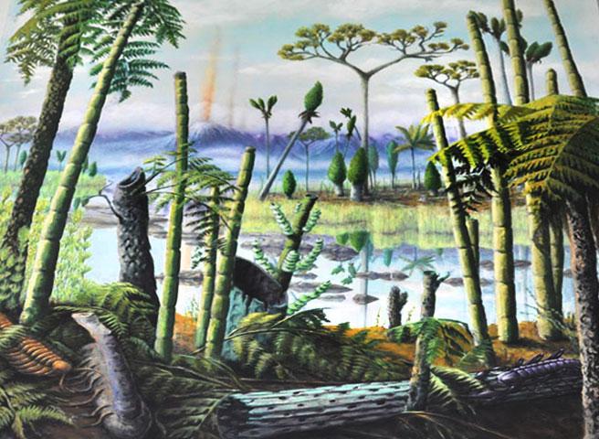 Kwast - Museumsmalerei - Darwineum Museum Rostock