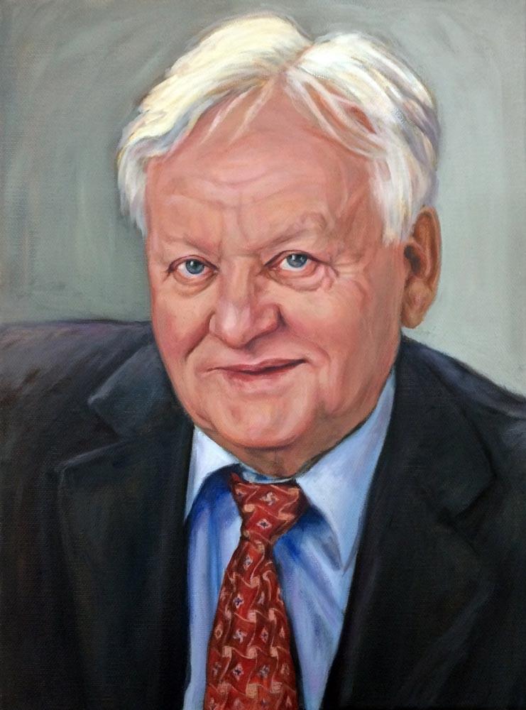 Auftragsmalerei Kwast Berlin, Porträtmalerei Herr G.