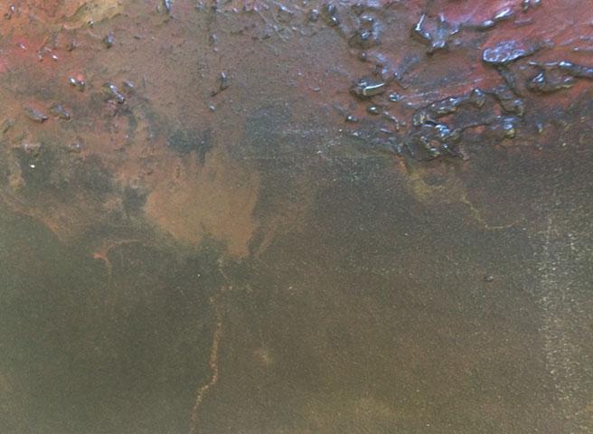 Auftragsmalerei Kwast Berlin, Imitation - Metal plates rust - Start