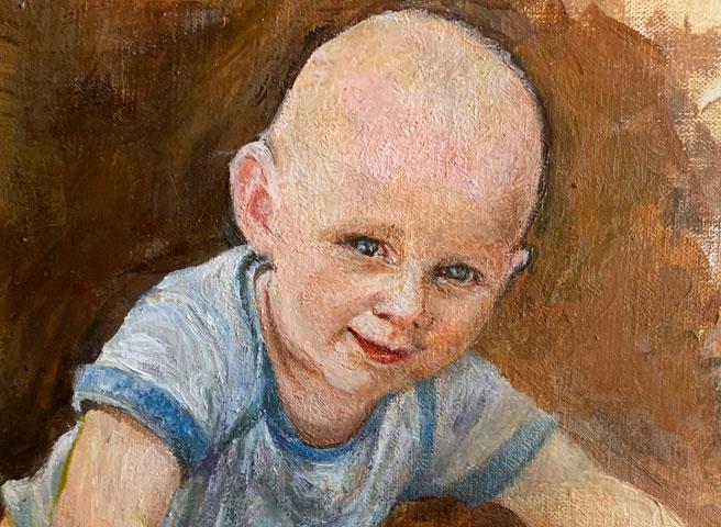 Auftragsmalerei Kwast Berlin, Portrait painting, Children's portrait, Startseite