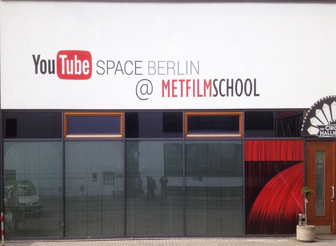 Fassadenmalerei - Metfilm