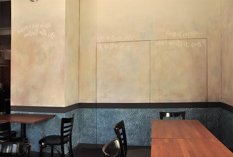 Wandmalerei club quasimodo auftragsmalerei kwast berlin - Wandmalerei berlin ...