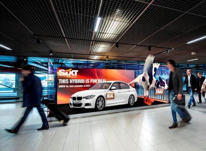 Auftragsmalerei - Berlin - Kwast - Autovermietung Sixt