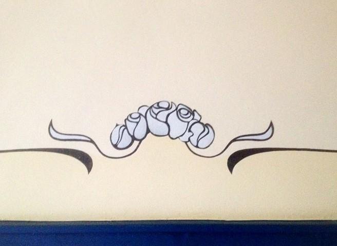 Wandmalerei auftragsmalerei kwast berlin - Schablone wandmalerei ...