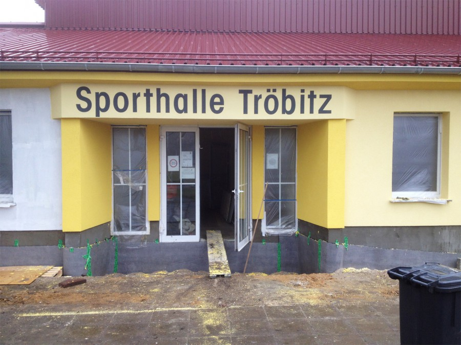 Fassadenmalerei - Troebitz