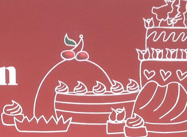 Kwast - Fassadenmalerei, Der Kuchenladen