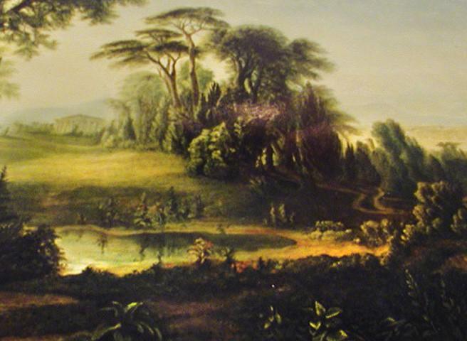 Kwast - Theater- und Filmmalerei - Landschaftsprospekt