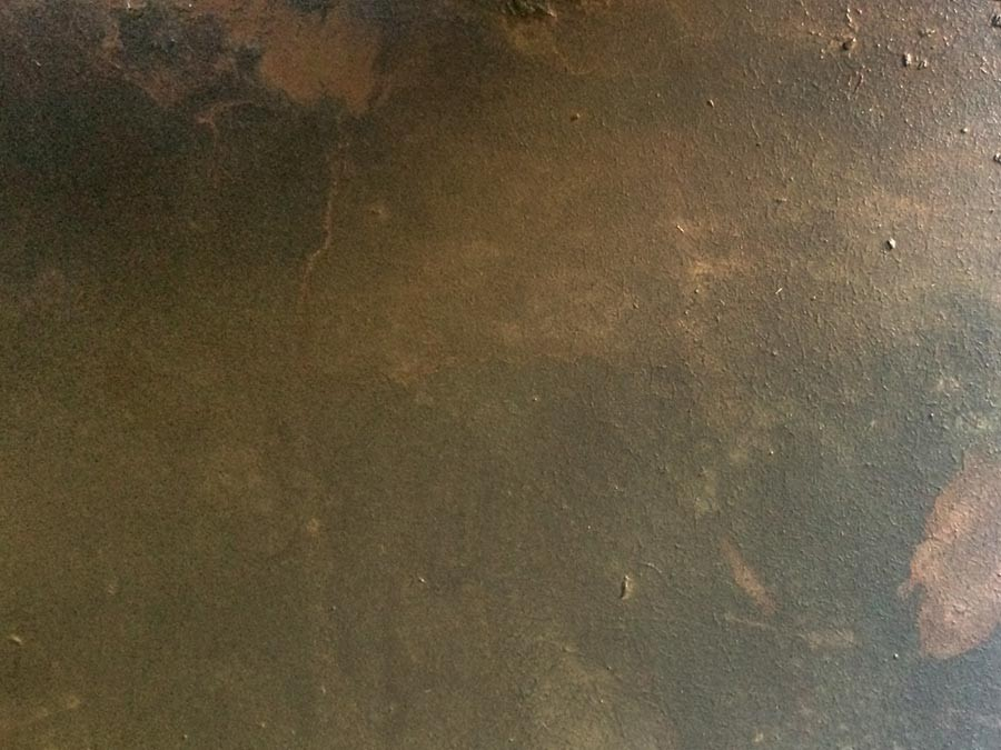 Auftragsmalerei Kwast Berlin, Imitationsmalerei - Metallplatten Rost