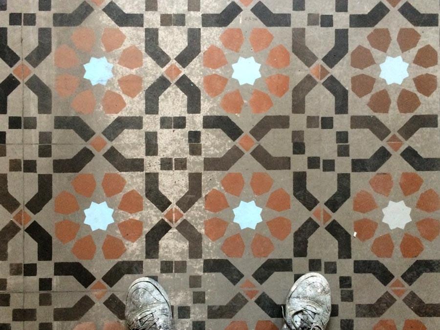 Auftragsmalerei Kwast Berlin, Imitationsmalerei - Marokko-Mosaik