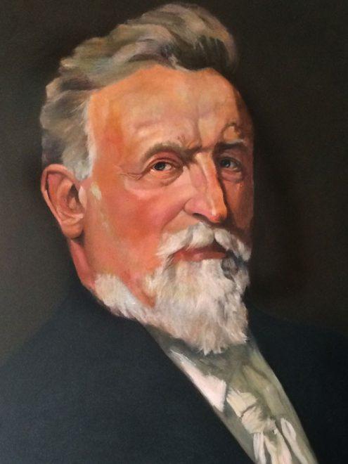 Auftragsmalerei Kwast Berlin, Portraitmalerei - Wilhelm Girardet