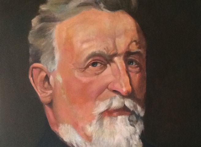 Auftragsmalerei Kwast Berlin, Portraitmalerei - Kommerzienrat Wilhelm Girardet Start