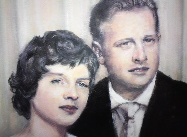 Kwast - Porträtmalerei - Porträt Silberhochzeit