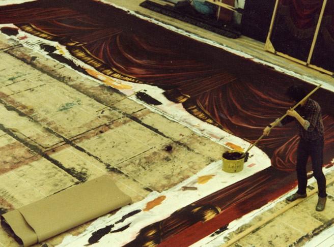 Kwast - Theater- und Filmmalerei - Bühnenvorhang