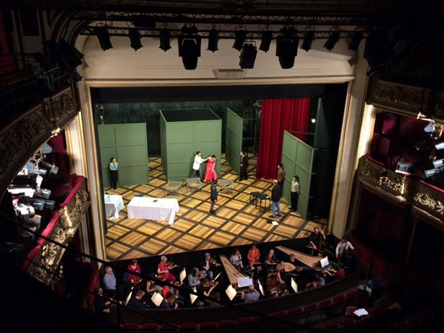 Auftragsmalerei Kwast Berlin, Theatermalerei Theater Göttingen - Arminio