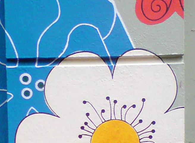Kwast - Fassadenmalerei - Volksfaden-Laden