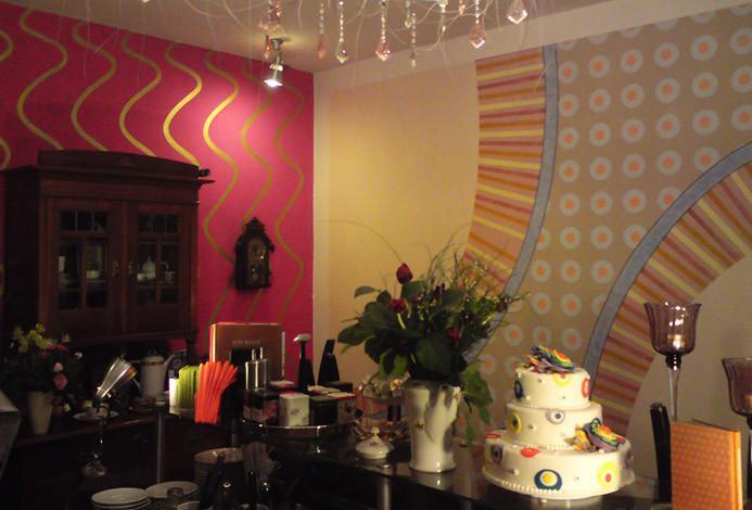 Wandmalerei in kuchenladen auftragsmalerei kwast berlin - Wandmalerei berlin ...