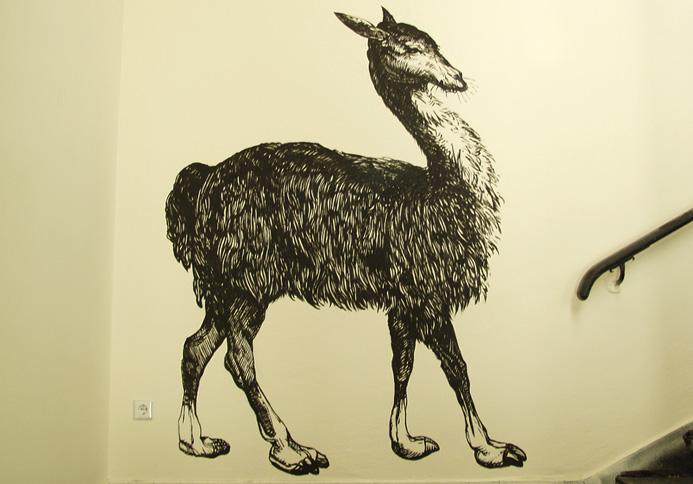 Wandmalerei theater an der parkaue auftragsmalerei kwast berlin - Wandmalerei berlin ...